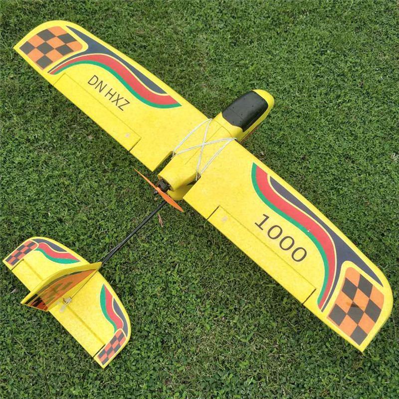 DN HXZ 1000 1000 milímetros Envergadura FPV RC Avião Trainer EPP Iniciante KIT