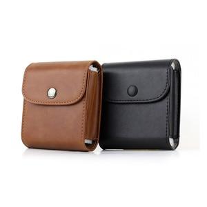 Image 5 - Fujifilm Instax Mini 8 9 Case Retro Leather Button Pouch Photo Case SQ10 SQ6 SQ20 x10 Fujifilm Mini 25 For Storage Camera Bag