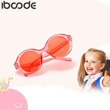 Iboode Детские поляризованные солнцезащитные очки для детей для путешествий на открытом воздухе для мальчиков и девочек солнцезащитные очки Карамельный цвет очки Oculos De Sol masculino UV400 очки