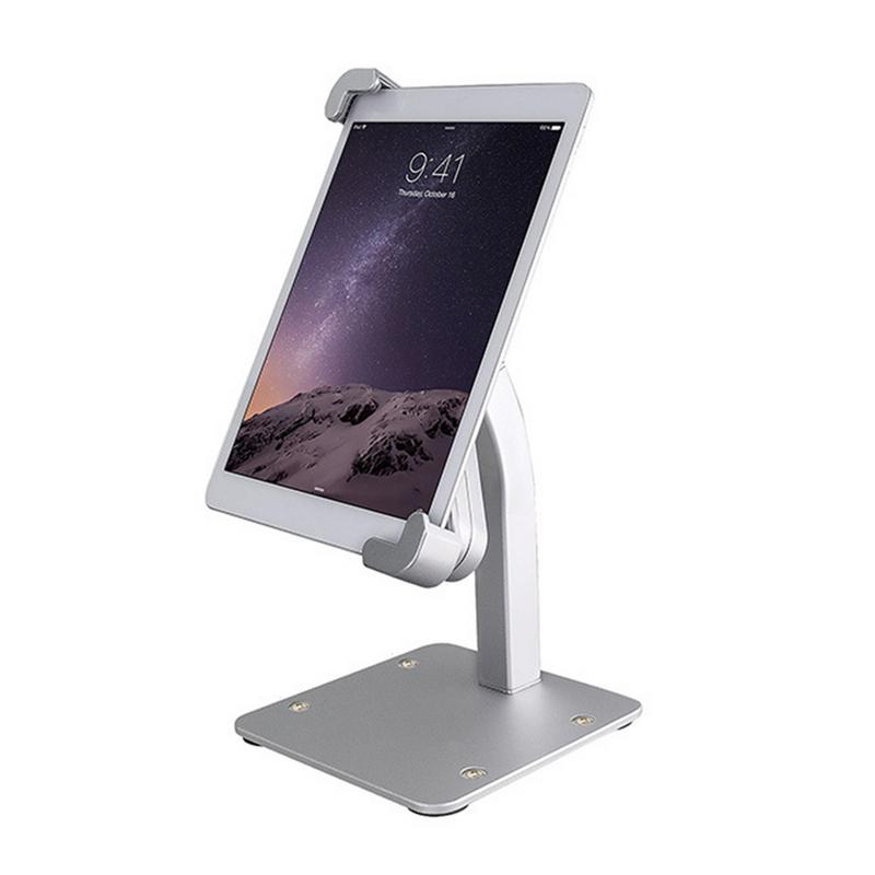 Aluminum Alloy Desktop Tablet Stand Holder Adjustable With Lock Anti-Theft Product Display Bracket Tablet Stand for 7.8-11 inchAluminum Alloy Desktop Tablet Stand Holder Adjustable With Lock Anti-Theft Product Display Bracket Tablet Stand for 7.8-11 inch