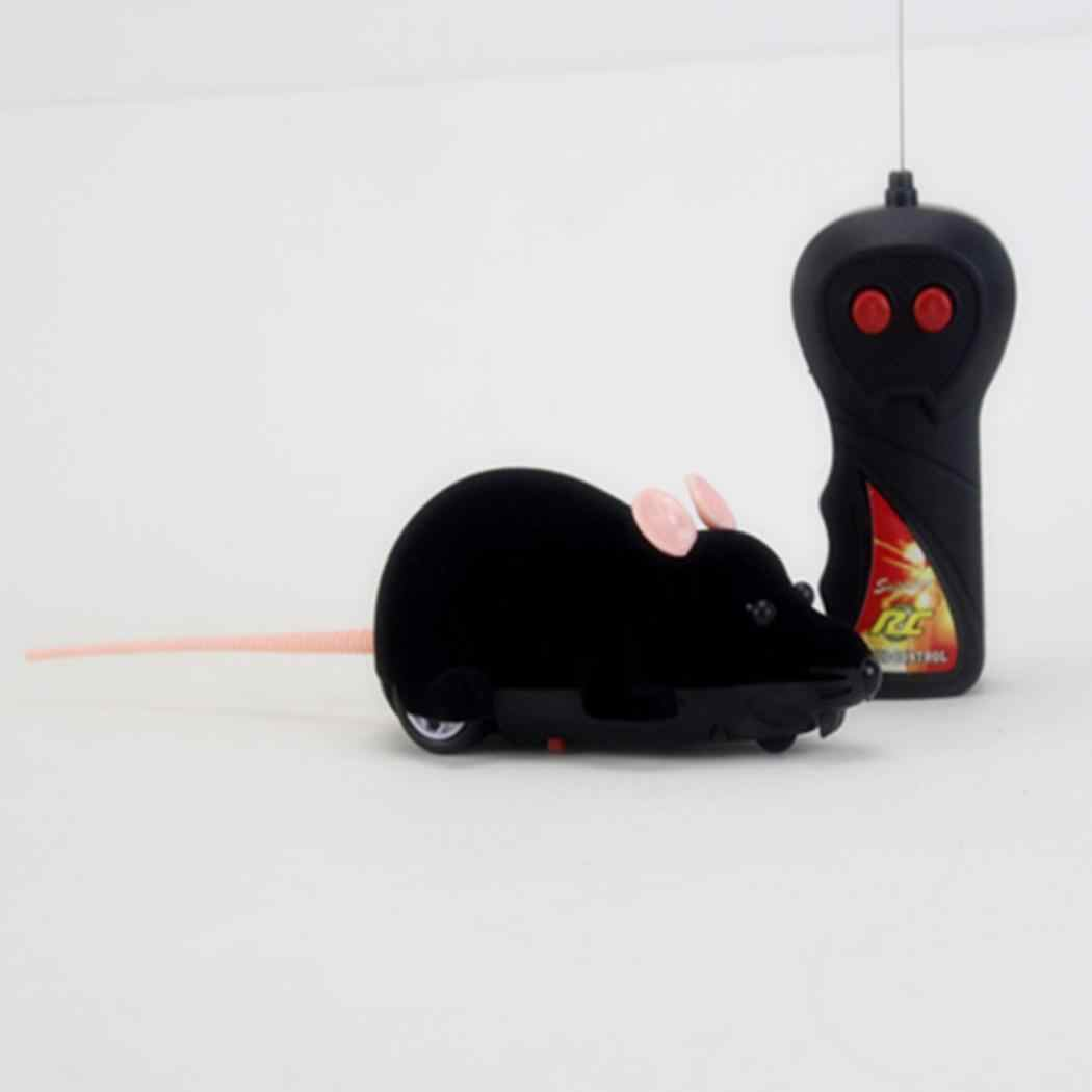 Remote Control Wireless Simulation Electric Mouse Toy Pets Cats Game Cats, Dogs, etc Home, School, etc