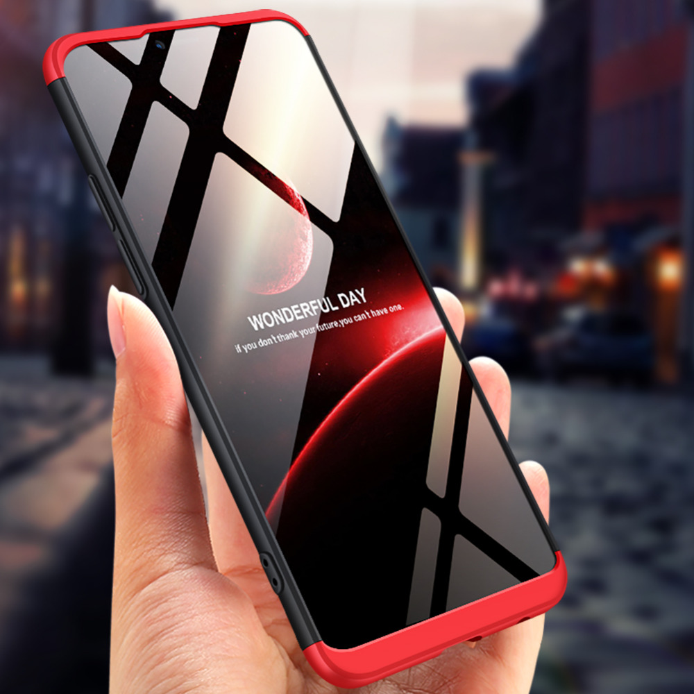 <font><b>OPPO</b></font> AX5 <font><b>A3S</b></font> <font><b>Case</b></font> OppoAX5 360 Degree Full Body Protected Phone <font><b>Case</b></font> For <font><b>OPPO</b></font> AX5 A5 <font><b>A3S</b></font> <font><b>Case</b></font> Shockproof Cover with <font><b>Glass</b></font> Film image