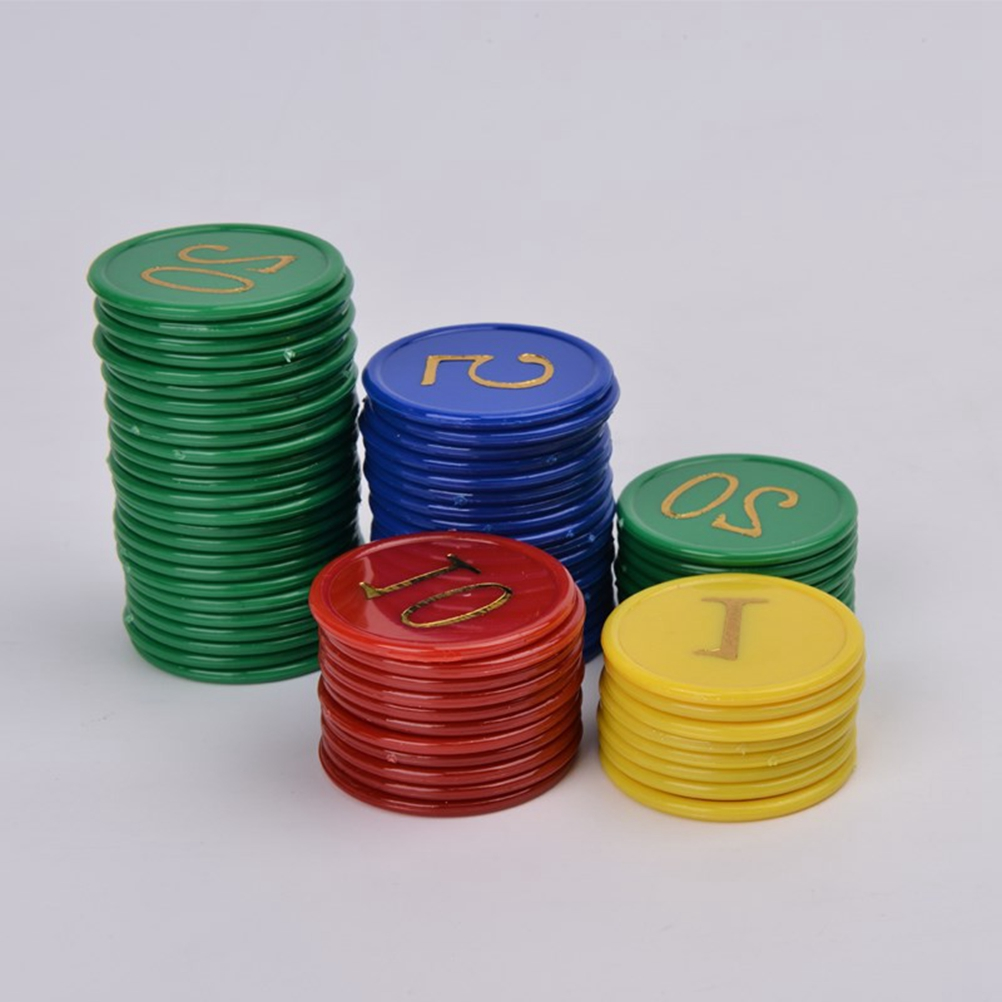 160 X Plastic Bingo Chips Markers For Bingo Game Counters Games Education Tools