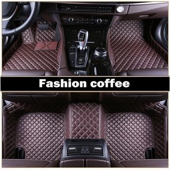 Special 100% fit car floor mats for Lexus CT200h GS ES250/350 RX270/350/450H GX460h leather Anti-slip  carpet liner