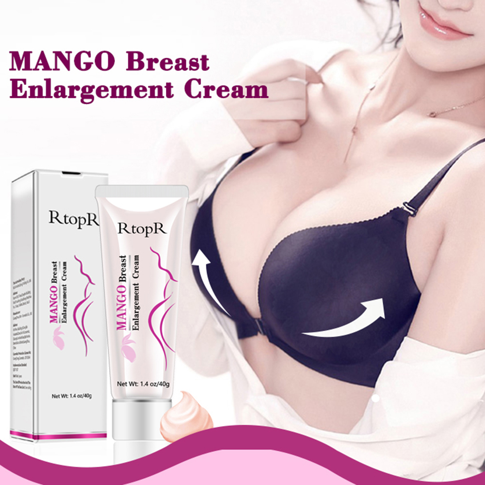 RtopR 40g Breast Enlargement Cream Essence Boobs Bust Enhancer Breast Enlargement Cream