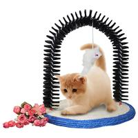 Cat Toy Itching Scratch Board Device Used With Natural Sisal PVC Metal Cat Scratching Device Claw Scratcher Toy Mat
