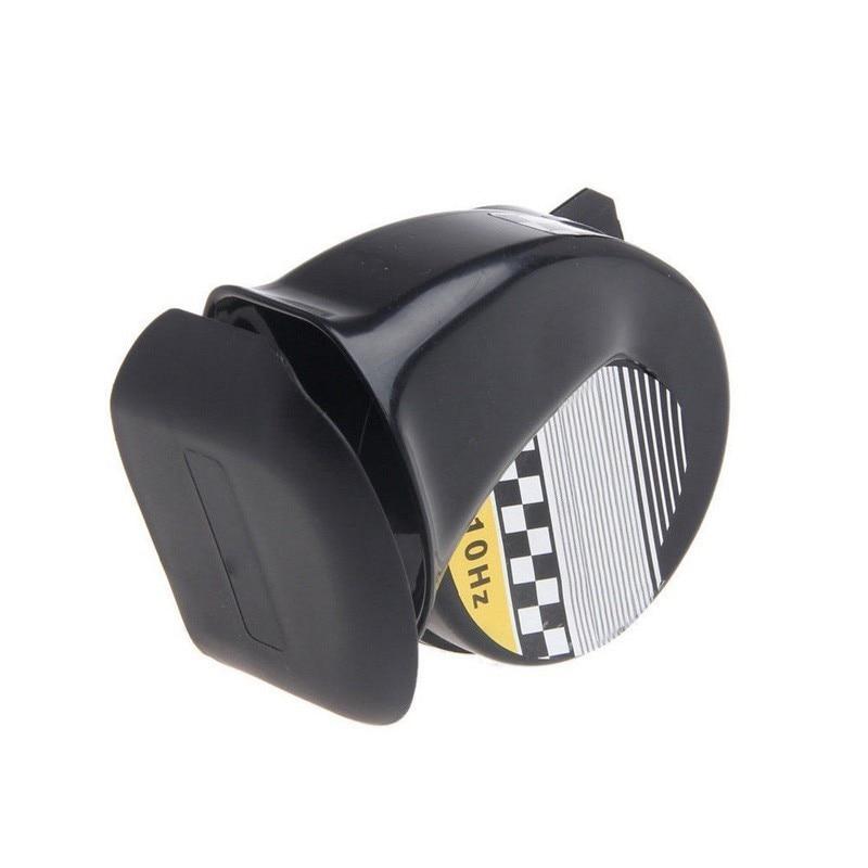 12 V 130DB Universele Auto Hoorns Signaal voor Auto Voertuig Vrachtwagens sirene Claxon Zwarte Slak Waterdichte Signaal Hoorn Auto accessoires