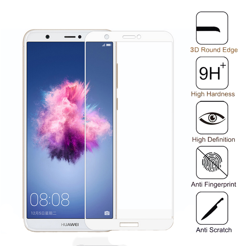 Full Cover Tempered <font><b>Glass</b></font> For <font><b>Huawei</b></font> P Smart 2019 Screen Protector For <font><b>Huawei</b></font> Huwei Y9 <font><b>2018</b></font> Y3 <font><b>Psmart</b></font> Plus Protective Glas Film image