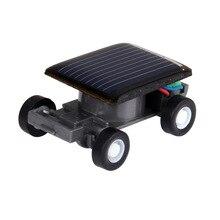 Children Toy Mini Car Solar Power Energy Funny Racing Racer Educational Gadget Kigs Gift YJS Dropship cheerlink mini solar power line walking smart car purple black