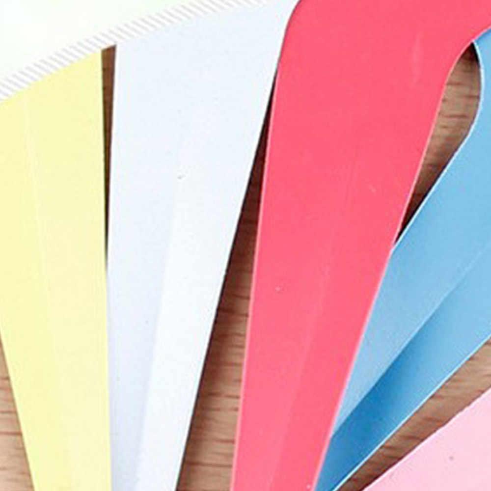 100 шт. Пластик много Цвета T-Тип детский сад растений Этикетки цветочный горшок толстые маркер метки для растений украшения сада Ins