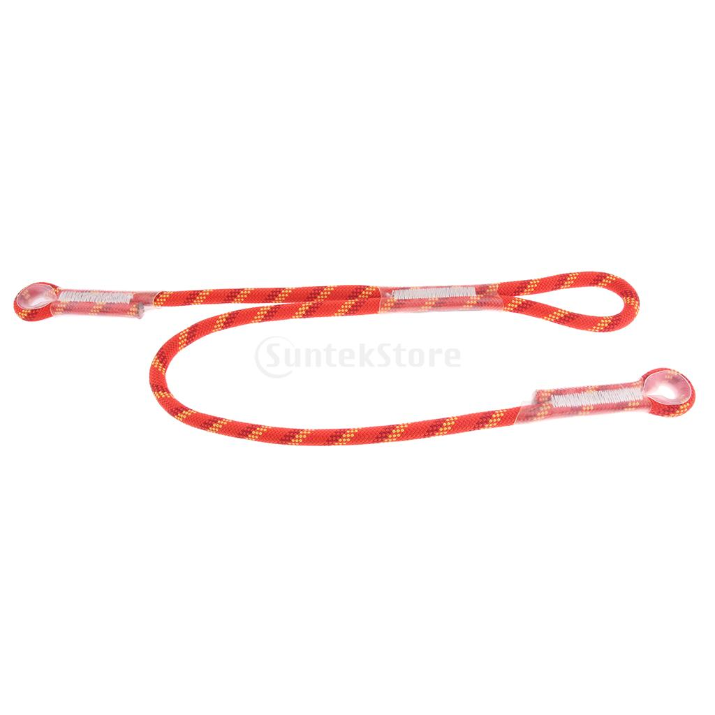 Outdoor Rock Climbing Nylon Pre-sewn Eye-to-Eye Prusik Loop Cord Rope 22KN