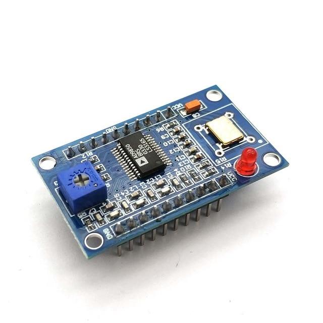Модуль генератора сигналов AD9850 DDS 0 40 МГц, 2 синусоидальных и 2 квадратных фильтра низких частот, Кристальный осциллятор, тестовая плата оборудования