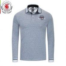 cd66efce43 Ancestros forman Marshall Polo camisas hombres 2018 bordado de la marca de  negocios casuales de Polo