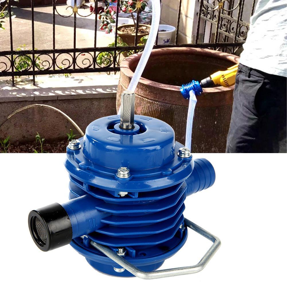 Heimwerker Das Beste Mini Selbstansaugende Engineering Kunststoff Hand Bohrmaschine Wasser Pumpe Hause Garten Neue