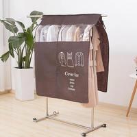 Напольная вешалка, подвесной влагостойкий мешок, пылезащитный мешок для костюма, пальто, куртки, одежды, сумки для хранения для дома, пылеза...