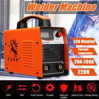 20 200A 25KVA IP21 Inverter Arc Electric Welding Machine IGBT/MMA/ARC/ZX7 Welder for Welding Working and Electric Working
