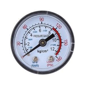 Image 3 - Yeni AC 230 V 2 Fazlı 1 Liman Basınçlı Kontrol Anahtarı Vana hava kompresör pompası Kontrol Anahtarı 2 Basın Ölçüleri 0  180 PSI