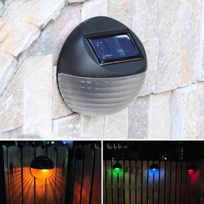 Clever Wasserdicht 2 Modus 2 Led Solar Wand Lampe Zaun Yard Licht Für Haushalt Hof Landschaft Solar Lampe Dekoration Auto Bedienen BüGeln Nicht