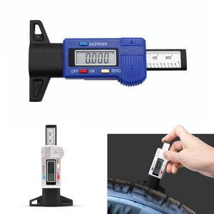 Image 3 - Digital Tire Tread Depth Gauge Meter Measurer LCD Display Tread  Tire Tester For Cars Trucks Range 0 25mm