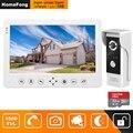 HomeFong Video Deurtelefoon Wired Video Intercom voor Thuis 10 inch Monitor Deurbel Camera Ondersteuning Bewegingsdetectie Record/CCTV camera