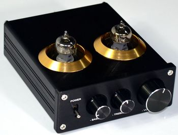Audiophile 6J1 HIFI stereo Vacuum tube preamplifier Bass and treble Adjustment