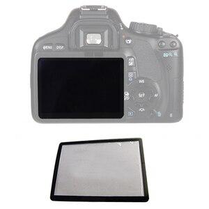 Image 1 - 10pcs חיצוני חיצוני LCD מסך מגן חלקי תיקון עבור Canon 5D 5D2 6D 40D 50D 60D 400D 450D 500D 550D 600D 1000D1100D SLR