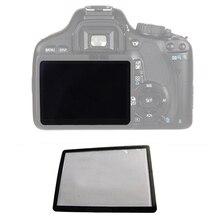Piezas protectoras de pantalla externa LCD externa para Canon 5D 5D2 6D 40D 50D 60D 400D 450D 500D 550D 600D 1000D1100D SLR, 10 Uds.