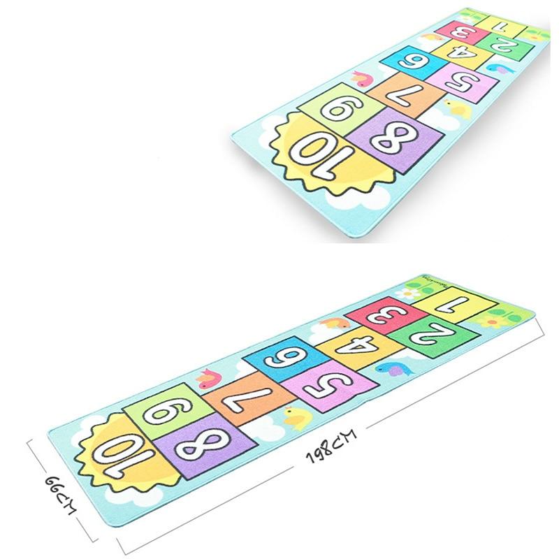 Nombre sautant bébé ramper tapis couverture infantile jouer Gym jeu Pad enfants tapis enfants tapis doux plancher tapis chambre décoration - 4