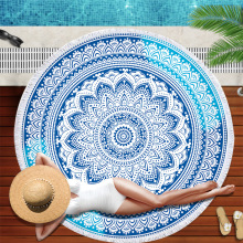 each Towel Round Microfiber Beach Towels for Living Room Home Decor Boho Style Bath