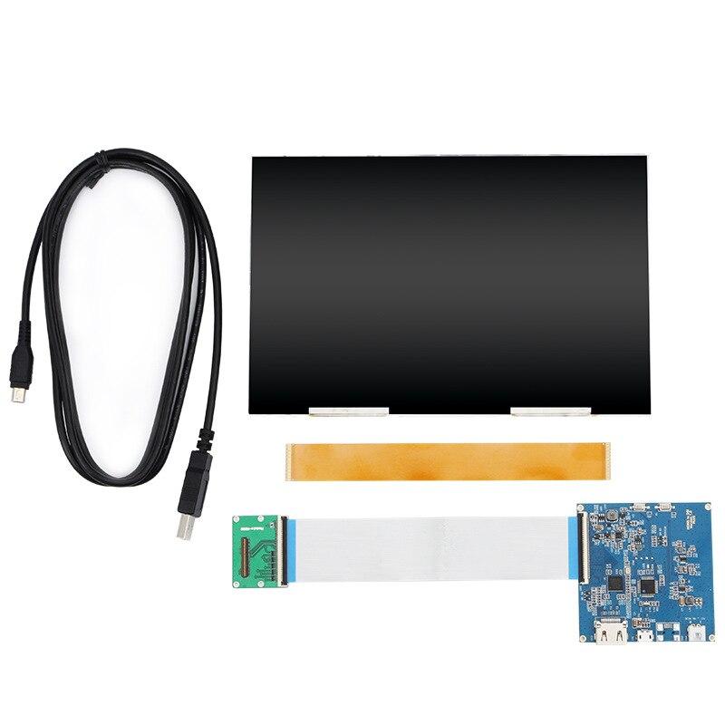 8.9 pouces HD 2 K écran lcd FHD 1600X2560 HDMI à MIPI contrôleur pilote pour bricolage VR PC lumière durcissement SLA/LCD 3D Imprimante partie