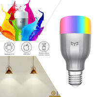 XIAOMI YEELIGHT Original E27 9W Discolourable LED Bulb 600Lumens Phone WiFi Remote Control MIJIA Lighting Bulbs For Smart home