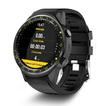 TenFifteen F1 Sports Smart watch GPS Watch Phone 1.3 inch MTK2503 Dual Bluetooth Beidou Camera Heart Rate / Sleep Monito