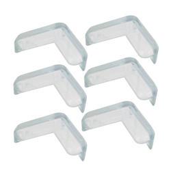 6 шт. мягкие резиновые угол стола Pad Обложка протектор подушки прозрачный