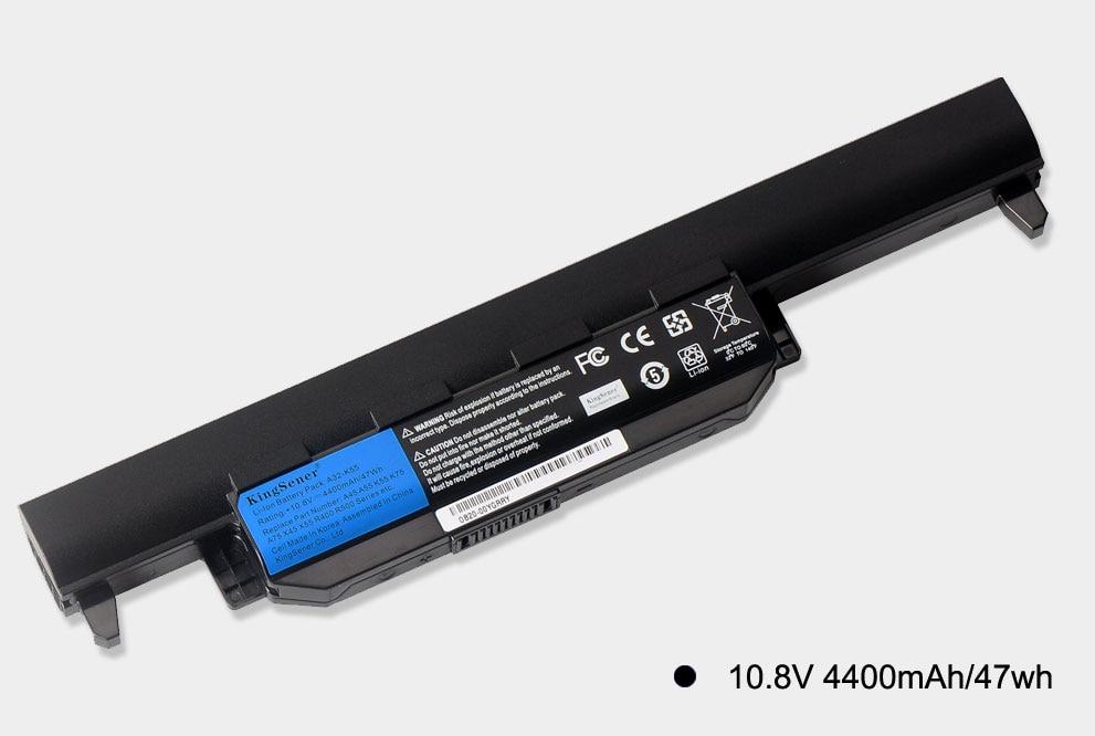 KingSener A32-K55 аккумуляторы үшін ASUS K55 K55V - Ноутбуктердің аксессуарлары - фото 5