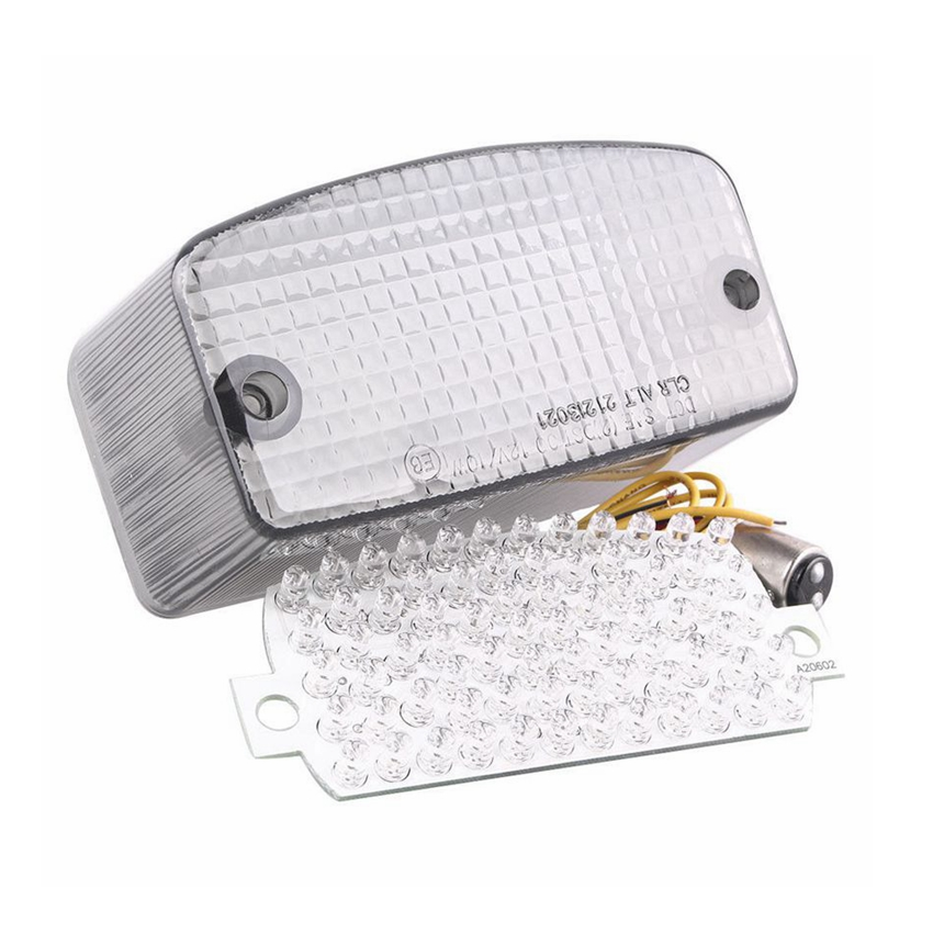 For Honda Magna / Spirit 750 1994-2007 1995 1996 1997 1998 1999 Integrated LED Turn Signal Tail Light Smoke