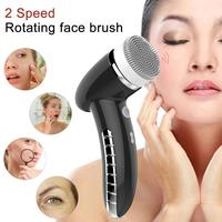 Electric Facial Cleansing Brush Instrument USB Rechargeable Gentle Exfoliating Deep Cleansing Removing Blackhead Facial Massager