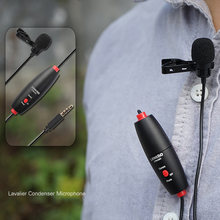 LENSGO Lavalier Condenser Microphone Professional For Computer Video Karaoke Mic For Canon DSLR Camera Camcorder For Smartphone(China)