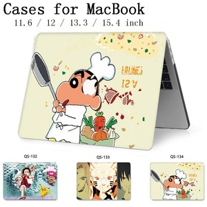 Image 1 - Hot For Notebook MacBook Case For Laptop Sleeve MacBook Air Pro Retina 11 12 13.3 15.4 Inch With Screen Protector Keyboard Cove