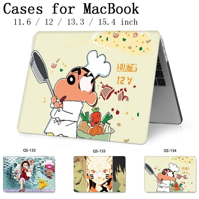 Hot For Notebook MacBook Case For Laptop Sleeve MacBook Air Pro Retina 11 12 13.3 15.4 Inch With Screen Protector Keyboard Cove