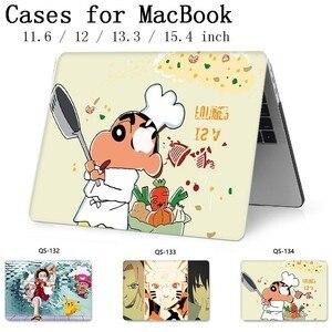 Image 1 - חם עבור מחברת MacBook מקרה עבור מחשב נייד שרוול רשתית 11 12 13.3 15.4 אינץ עם מסך מגן מקלדת קוב