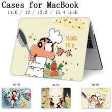 Sıcak Dizüstü MacBook Için dizüstü bilgisayar kılıfı MacBook Hava Pro Retina 11 12 13.3 15.4 Inç Ekran Koruyucu Ile Klavye kapak