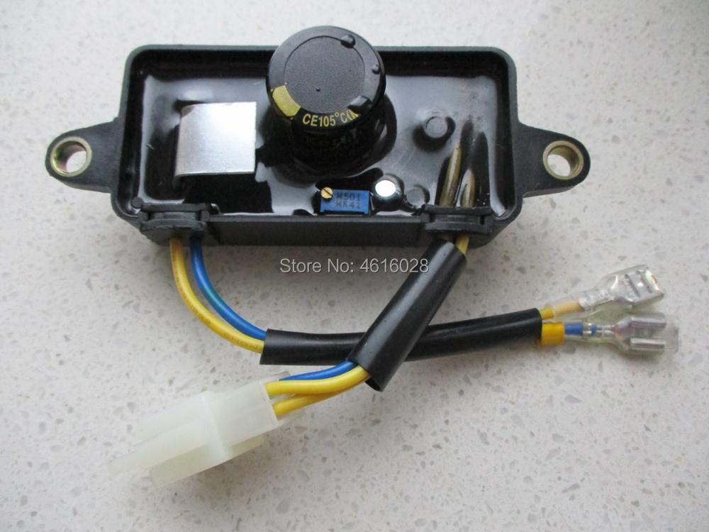 ORIGINAL LIHUA 2KW TT08-4A AVR AUTOMATIC VOLTAGE REGULATOR GENERATOR PARTS TT08-4A