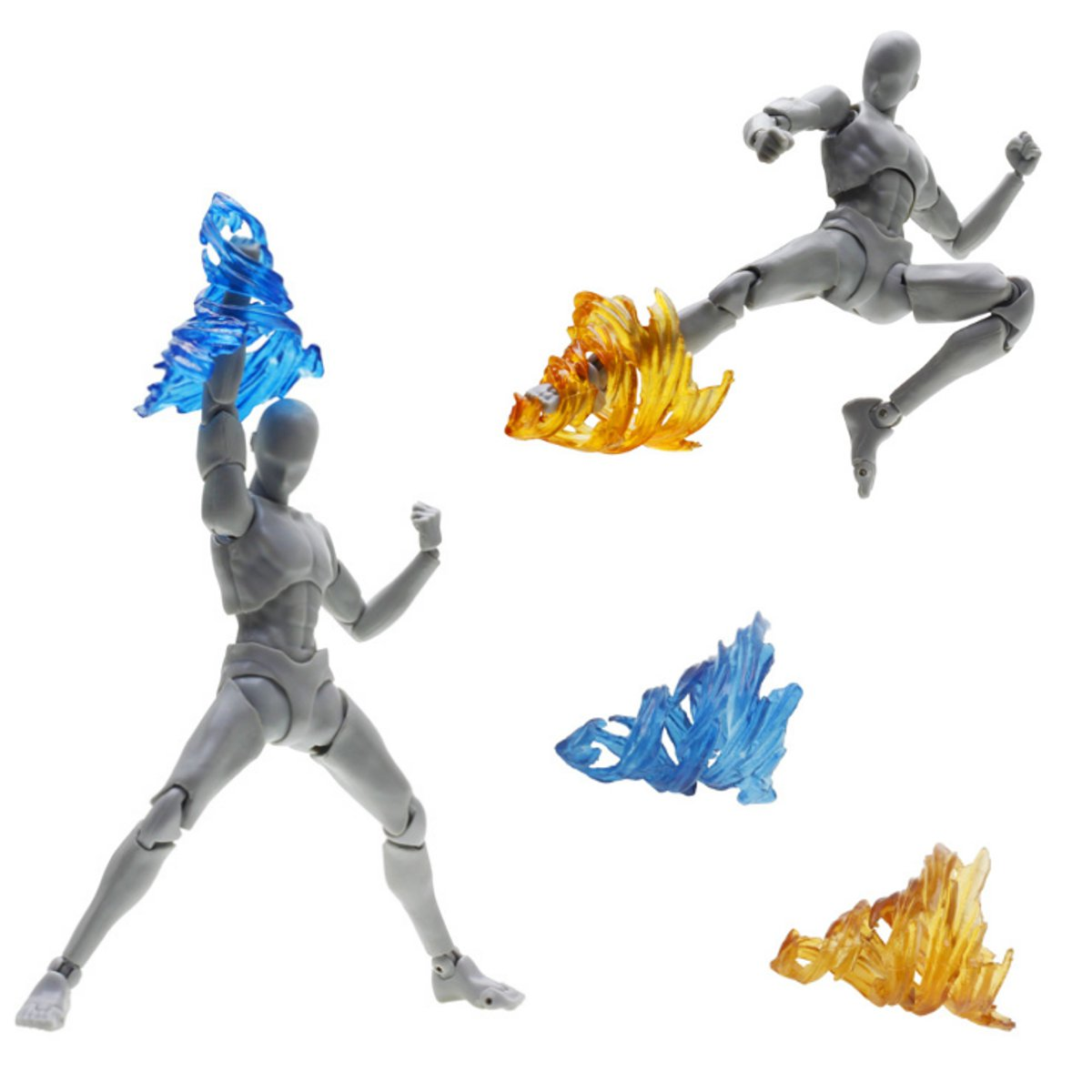 Image 4 - Plastic Tamashii Screw Impact Effect Model Kamen Rider Figma SHF Action Figure Kick Toys Special Effect Action Toy FiguresAction & Toy Figures   -