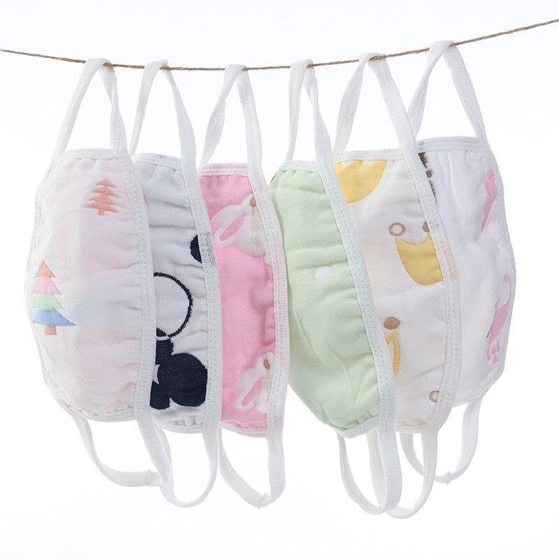 1PC Hot Sale Cartoon Cotton Mask Adult Child Dust-free Fluorescent Windproof Soft Comfortable Popular Accessories
