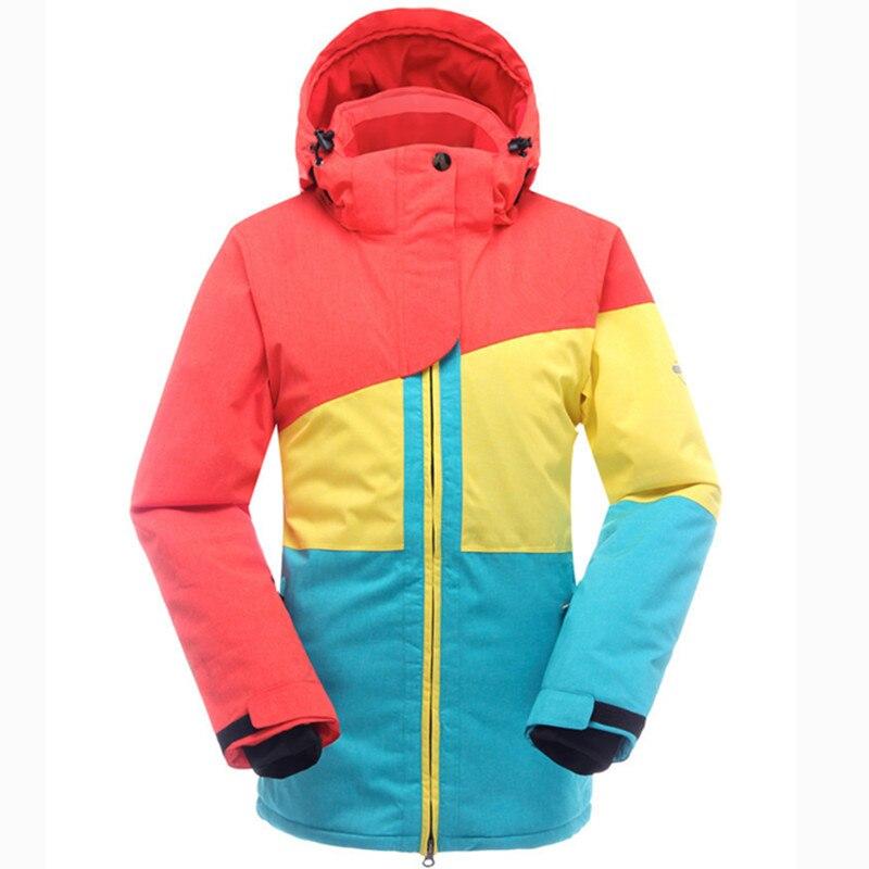 SAENSHING chaud Ski costume femmes hiver Ski veste snowboard costumes imperméable 10 K respirant neige extérieur Ski de montagne ensemble - 5