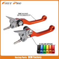 CNC Pivot Foldable Clutch Brake Lever For KTM FREERIDE250 FREERIDE350 2014 2015 2016 2017 SX65 XC65 SX85 SX XC 65 85 14 15 16 18
