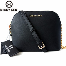 цены MICKY KEN Brand 2018 Designer Women Handbags Lady Shell Bags Cross Women Messenger Bags Shoulder Bolsa Feminina Sac A Main
