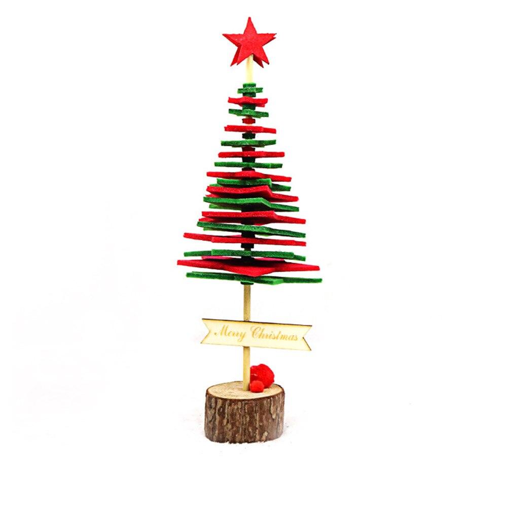 1pc DIY Christmas Tree Kids Children Handmade Christmas Tree Xmas Gift Decoration Ornament For Party Home Kindergarten