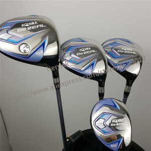 Image 2 - Nieuwe Vrouwen Honma Golf Club Honma Bezeal 525 Golf Complete Set Met Hout Putter Head Cover (Geen Zak) gratis Verzending
