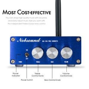 Image 4 - Nobsound CSR8675 Bluetooth 5.0 เครื่องขยายเสียงดิจิตอล Mini HiFi APTX HD 100W + 100W